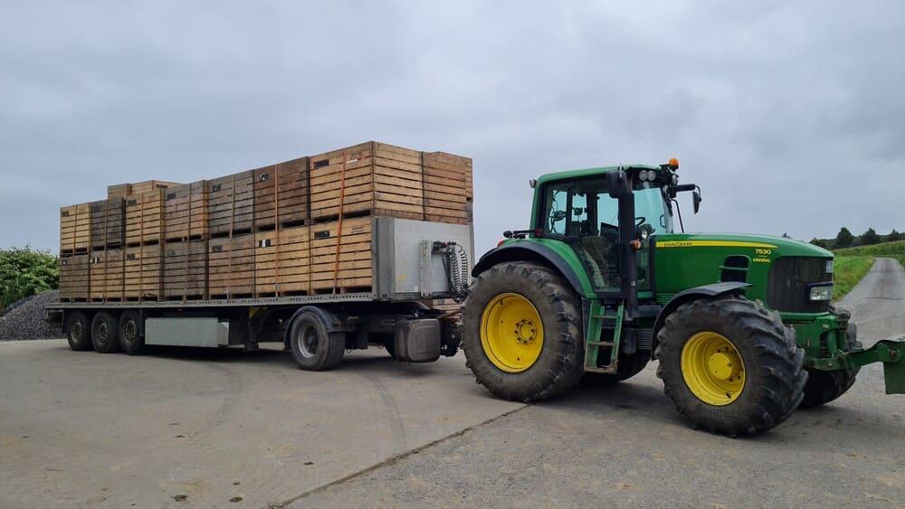 Flachwagen-Anhänger Schmitz-Cargobull